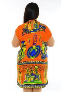 Туника летняя модная нарядная М7849