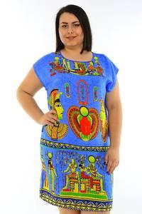 Туника летняя модная нарядная М7850