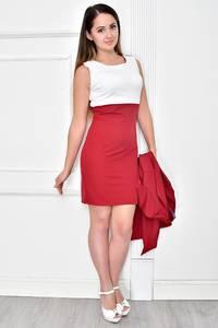 Платье Двойка короткое облегающее Ф4839