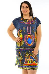Туника летняя модная нарядная М7851