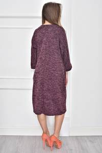 Платье короткое с принтом Т7472