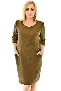 Платье короткое офисное нарядное П0408