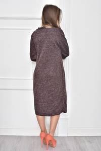 Платье короткое нарядное однотонное Т7473