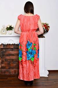 Платье длинное летнее с принтом Р6895