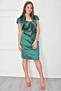 Платье короткое вечернее облегающее У7903