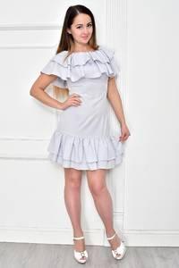 Платье короткое коктейльное летнее Ф4841