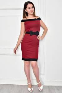 Платье короткое облегающее Ф4842