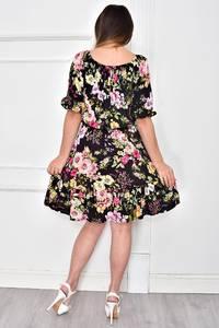 Платье короткое нарядное летнее Ф4843