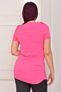 Блуза с коротким рукавом Ц4309