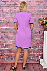 Платье короткое однотонное летнее Т5914