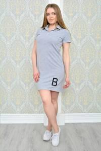 Платье короткое повседневное облегающее Р1169