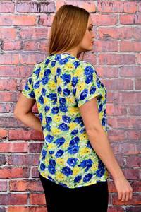 Блуза летняя нарядная П6046