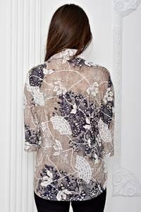 Рубашка с коротким рукавом с принтом Т0668