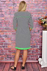 Платье короткое однотонное летнее Т5916