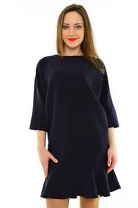 Платье-туника короткое вечернее черное М6834