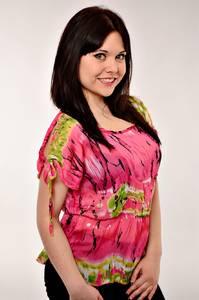 Блуза летняя розовая И0274