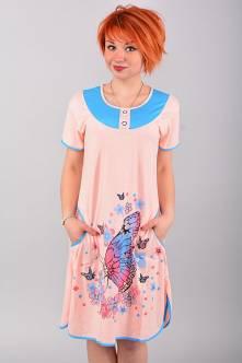 Домашнее платье В0048
