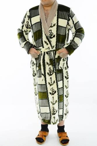 Махровый халат М3393