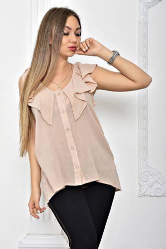 5f73b5c18afce7a Рубашка прозрачная с коротким рукавом Т2442 купить оптом в интернет ...