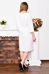 Платье длинное белое вечернее Р3523
