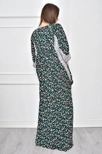 Платье длинное с принтом повседневное Т8969