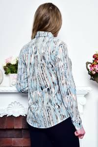 Рубашка с длинным рукавом с принтом Р9030