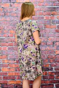Платье короткое летнее с коротким рукавом П5706