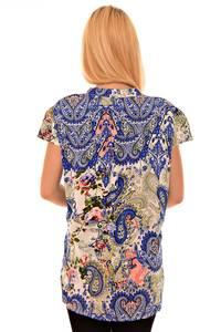 Блуза летняя вечерняя К6143