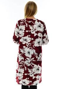 Рубашка с длинным рукавом с принтом П1215
