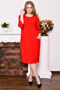 Платье длинное красное вечернее Р3527