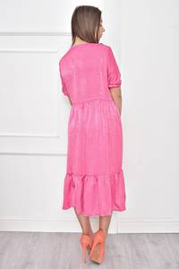 Платье короткое нарядное с кружевом Т7466