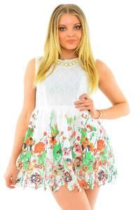 Платье короткое летнее М4545