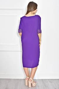Платье короткое летнее с кружевом Т6722