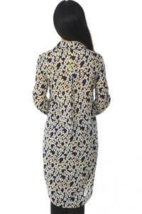 Рубашка-туника с длинным рукавом с принтом Н5952
