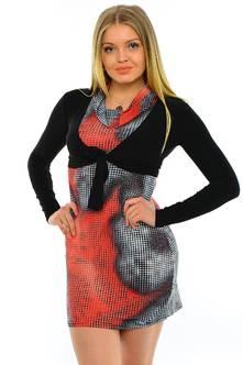 Платье Двойка М7020