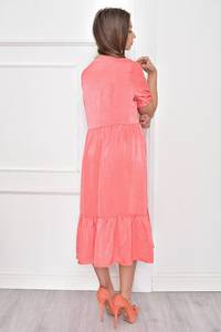 Платье короткое нарядное с кружевом Т7468