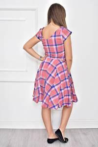 Платье короткое с принтом летнее Т8977