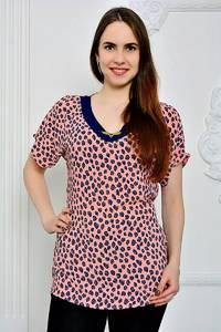 Блуза летняя с коротким рукавом П9269
