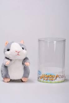 Интерактивная игрушка говорящий хомяк Г0343