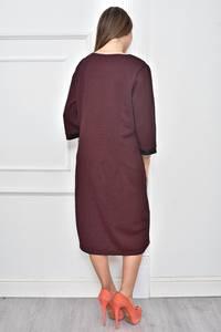Платье длинное нарядное деловое Ф0122