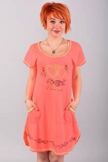 Домашнее платье В0062