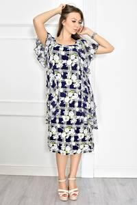 Платье короткое летнее с принтом Т6726