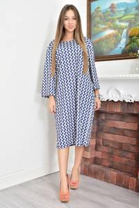 Платье короткое с принтом Ф4618