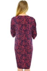 Платье длинное зимнее трикотажное Н0605