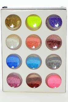 Набор блесток для дизайна ногтей (12 шт.) М3795