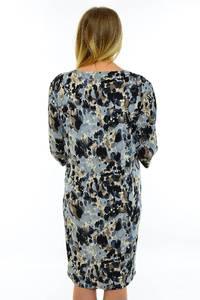 Платье длинное с принтом трикотажное М7028