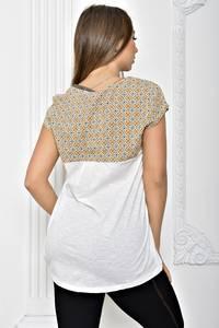 Блуза белая для офиса Т2458
