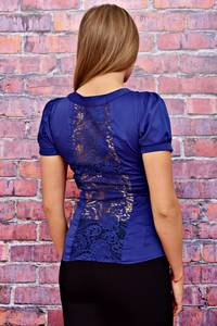 Блуза с кружевом Т4505
