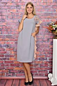 Платье длинное нарядное однотонное Т5933