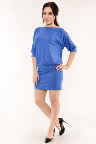 Туника-платье трикотажная летняя стильная И6164